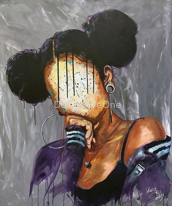 Naturally Xxxvi Canvas Print Nature Art Prints Black Girl Art