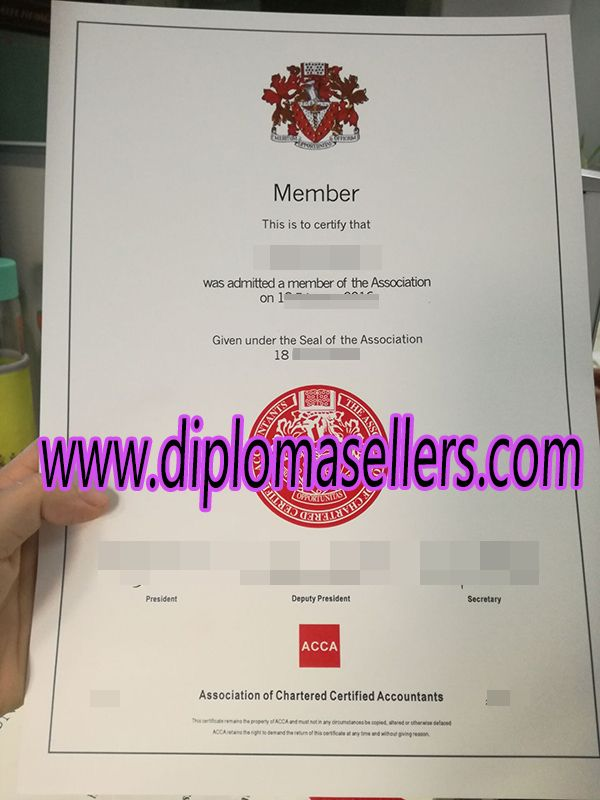 Buy Acca Membership Certificate How To Buy Uk Acca Certificate