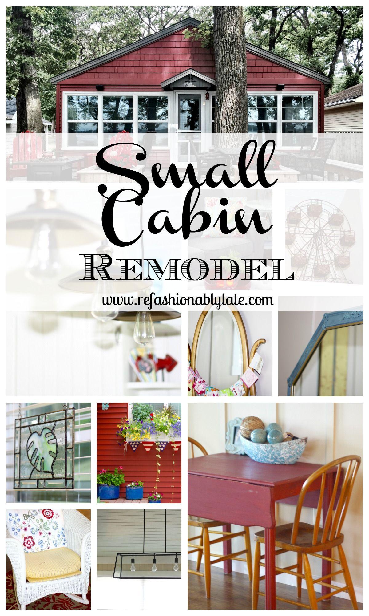 Small Cabin Remodel Small Cabin Remodel Cabin Decor