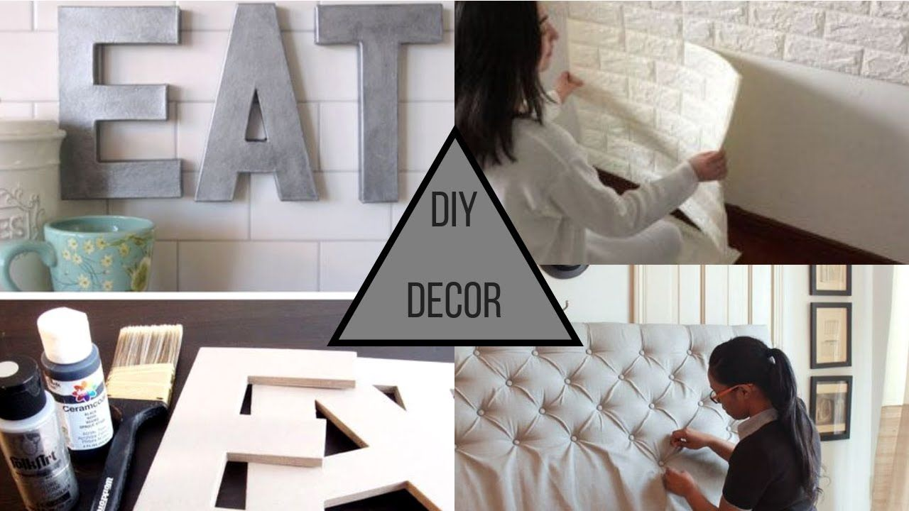 2019 Diy Home Decorating Trends Ideas Youtube Trending Decor Home Decor Home Diy