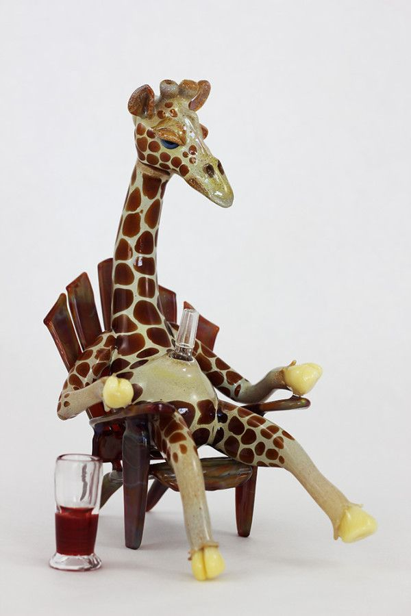 giraffe bong glass pinterest giraffe pipes and glass