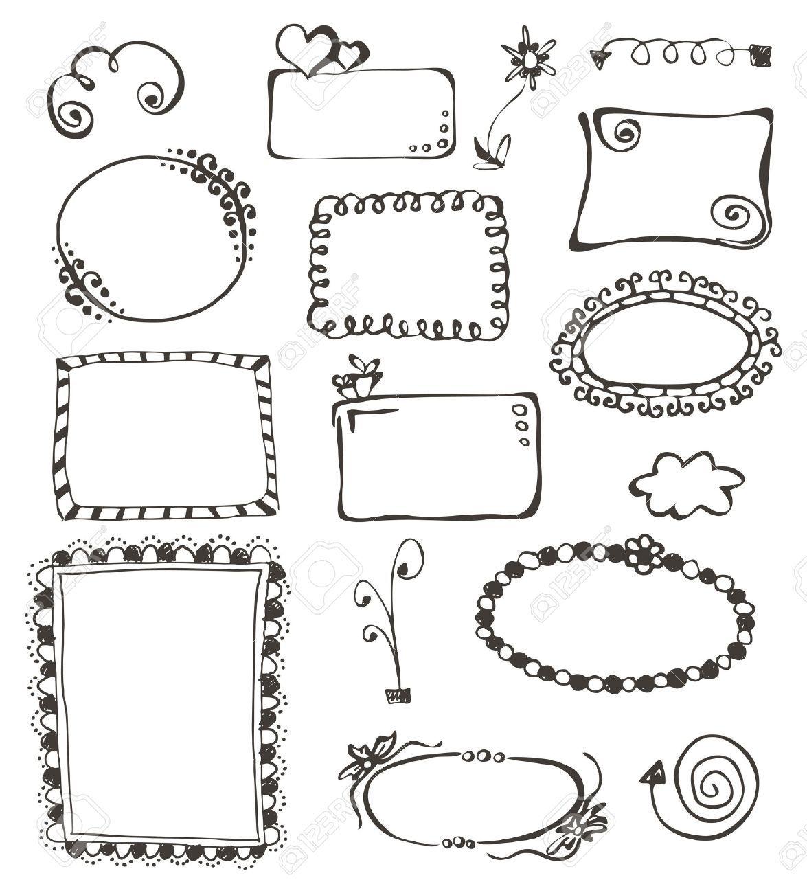 Magnifiek kaders en randen - Google zoeken   Doodles - Drawing frames, How #SA73