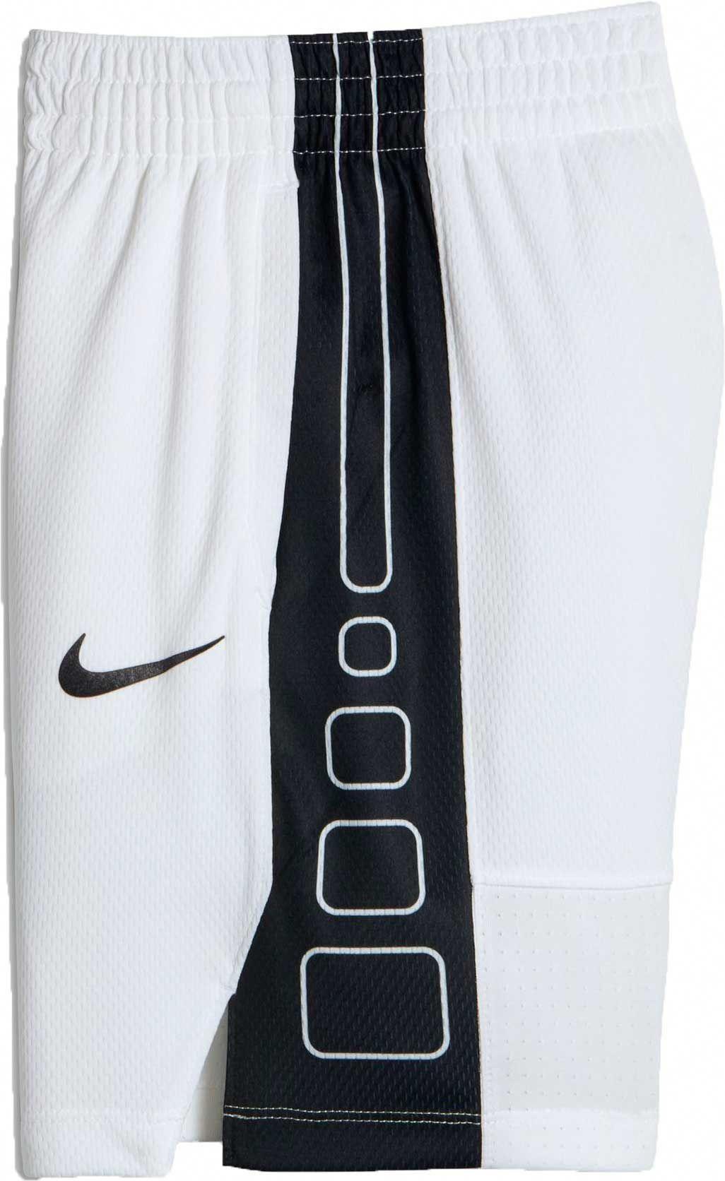 2074f91052 Nike Girls' Dry Elite Stripe Basketball Shorts, Size: XS, White  #AdidasBasketballShoes