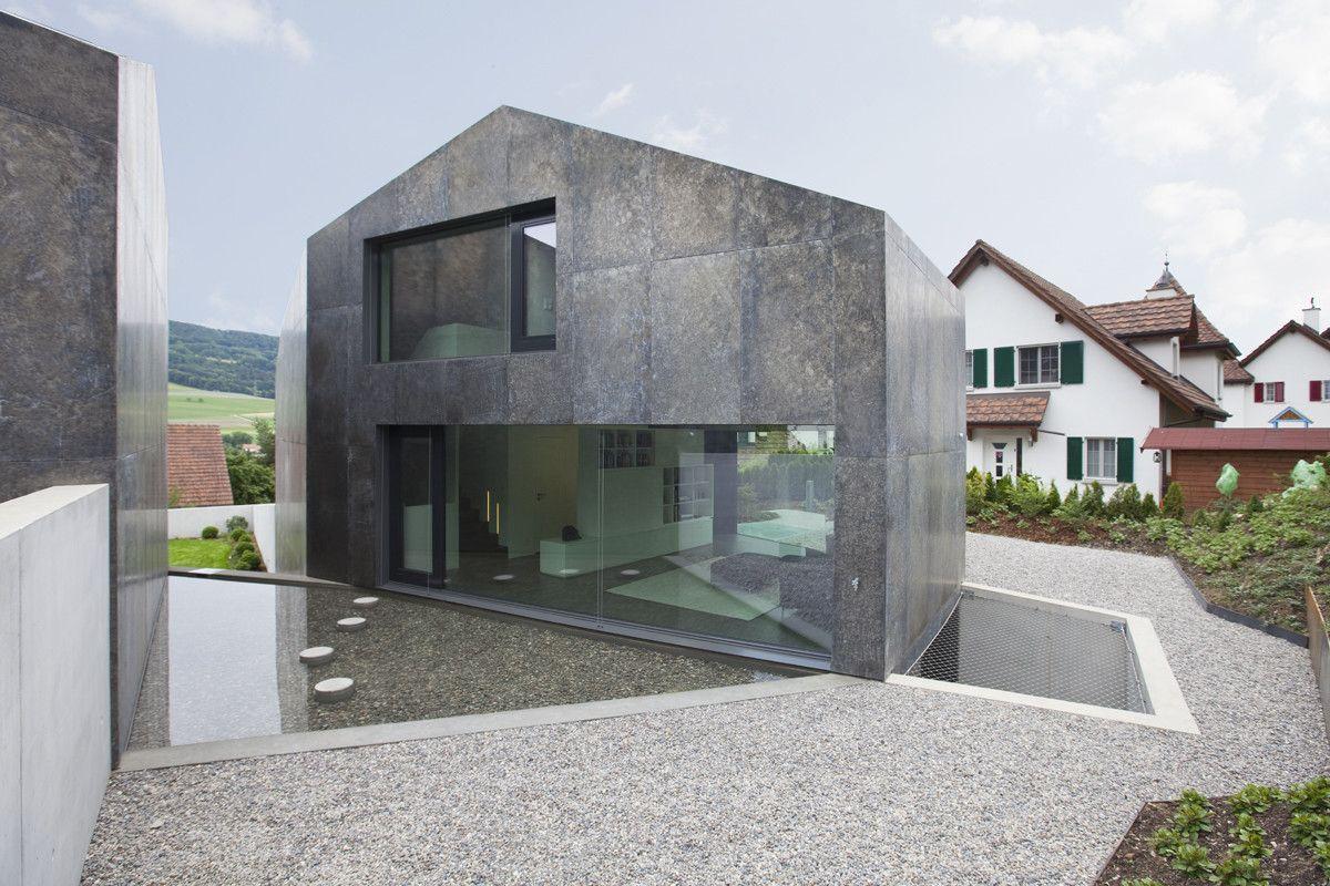 Galer a de dos viviendas unifamiliares l3p architekten - Fachadas viviendas unifamiliares ...