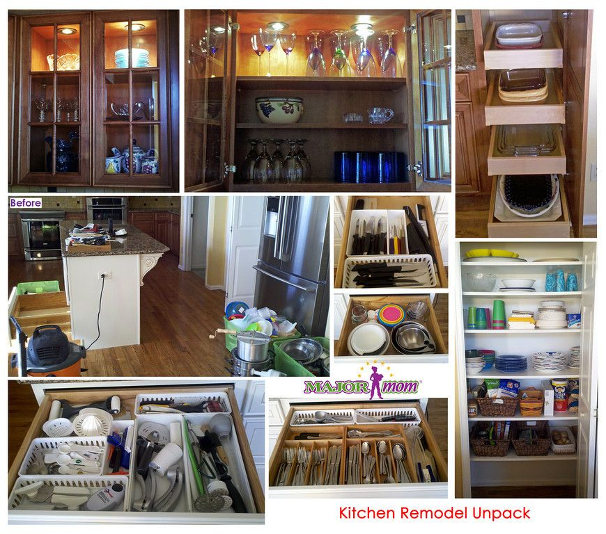 New Kitchen Remodel Professional Unpack And Organize