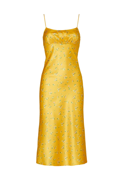 Yellow Rachel Dress By Kourt For 30 Rent The Runway Dresses Casual Dresses Womens Dresses
