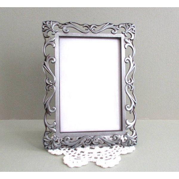 4 x 6 Frame Picture Frame Silver Frame Photo Frame Ornate Frame ...