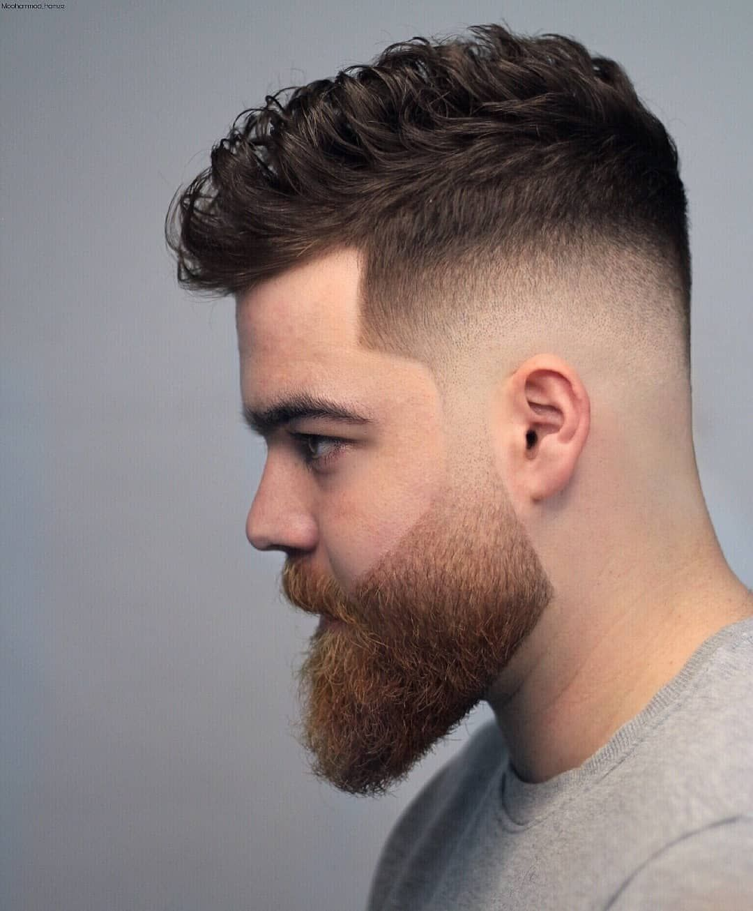 Follow Menluxhair For Daily Men Haircuts And Trending Hairstyles Rate This 1 10 Fade Haircut With Beard Hairstyles Haircuts Beard Haircut
