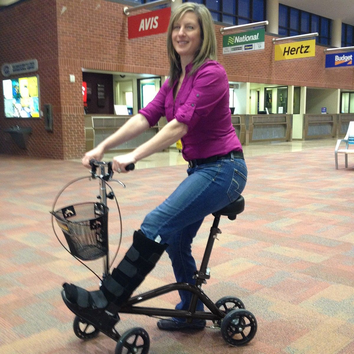 Steerable Knee Scooter Health Amp Well Being Knee