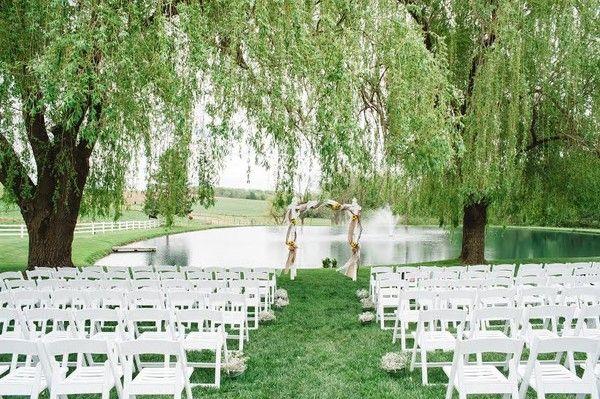 Pond View Farm Md Pond Wedding Pond Wedding Ceremony Garden Wedding Venue