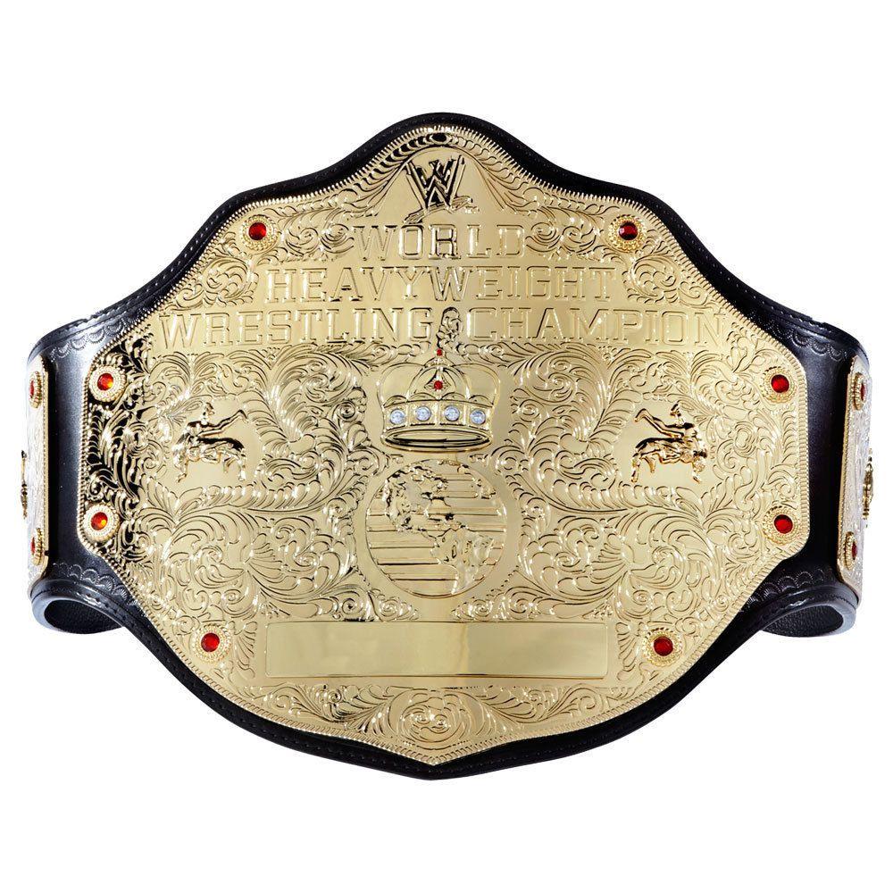 5x WWE World Heavyweight Championship Divas Wrestling Mini Title Belt Toy Figure