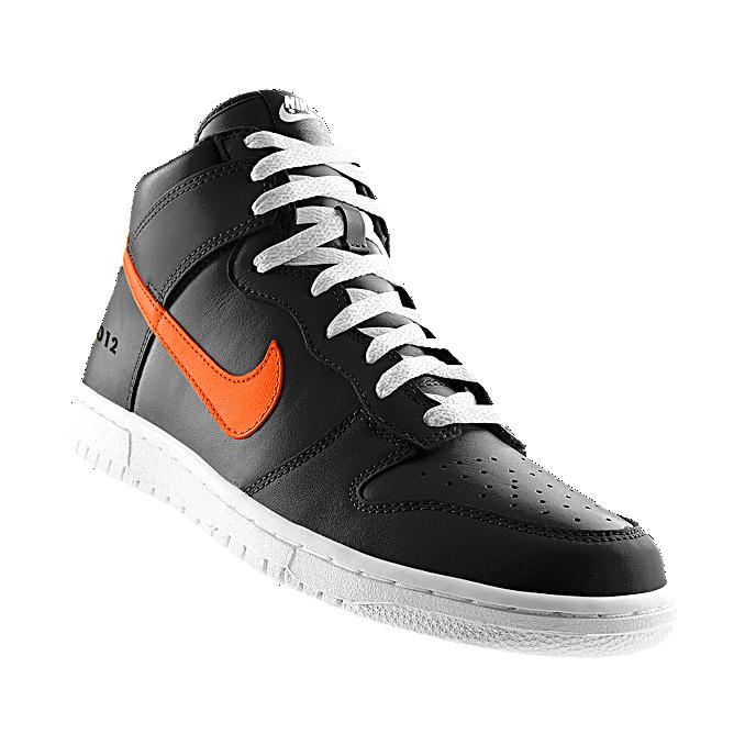 NIKEiD. Custom Nike Dunk High iD Men's Shoe // 2010 & 2012 WS Champion