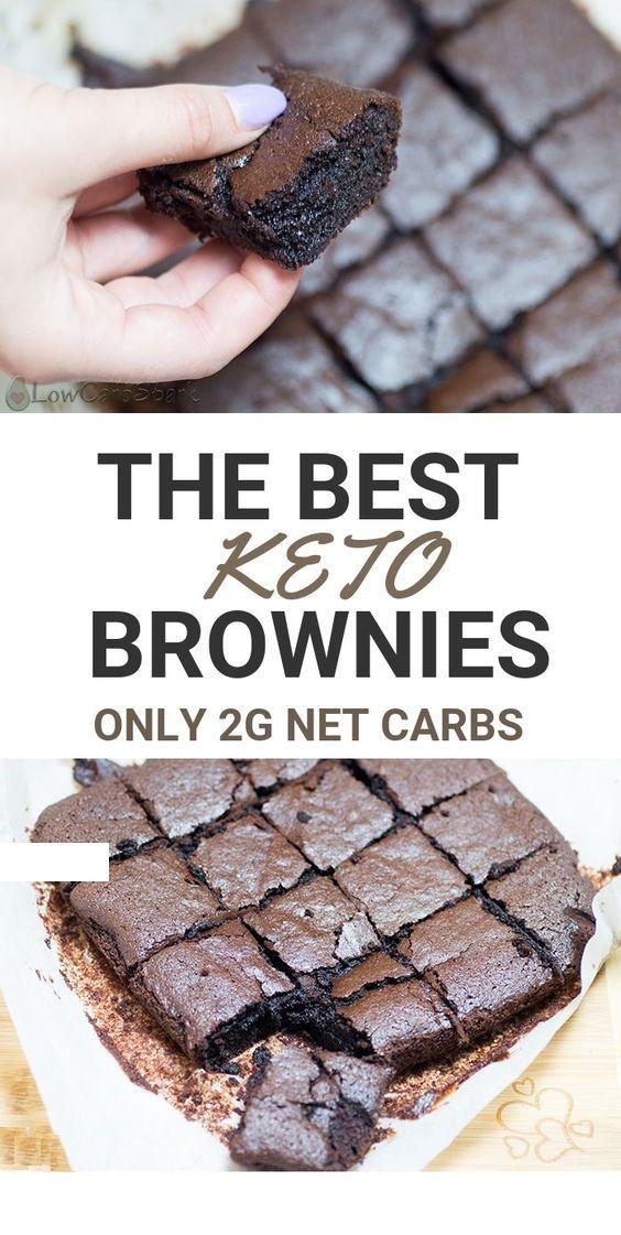 Best fudgy keto brownies – The Best Fudgy Keto Brownies – Only 2g carbs #ketodietforbeginners