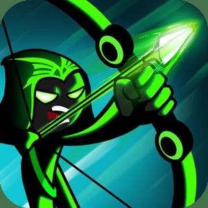 Super Bow Stickman Legends Archero Fight V1 7 Mod Apk Black Paper Drawing Bows Legend