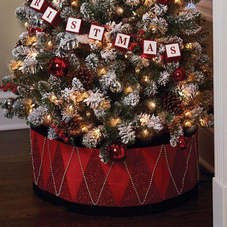 Christmas Tree Drum Collar Improvements Catalog Christmas Diy Christmas Tree Hooks Unique Christmas Trees