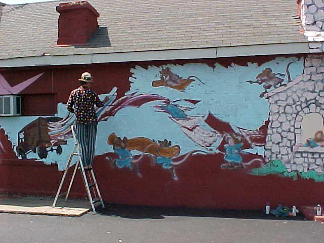Painting On Rug Rats Store 318 North Main Street Farmville Va Happy At Work Custom Rugs Happy At Work Farmville Va