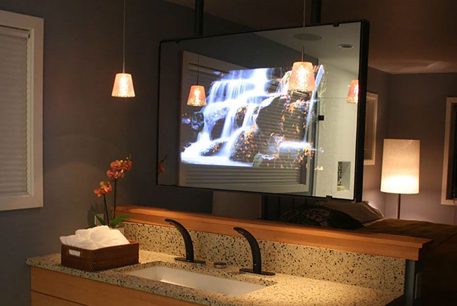 Buy A Vanity Mirror Tv Mirror Tv Tv In Bathroom Vanity Mirror