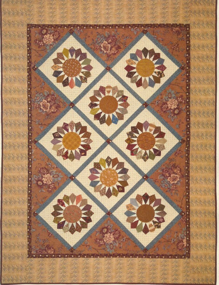 Dresden Star Quilt Pattern By Edyta Sitar Of Laundry Basket Quilts