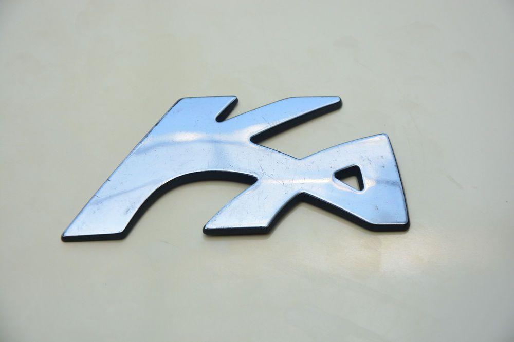 Used Original Ford Ka Chrome Nameplate Rear Logo Emblem Badge