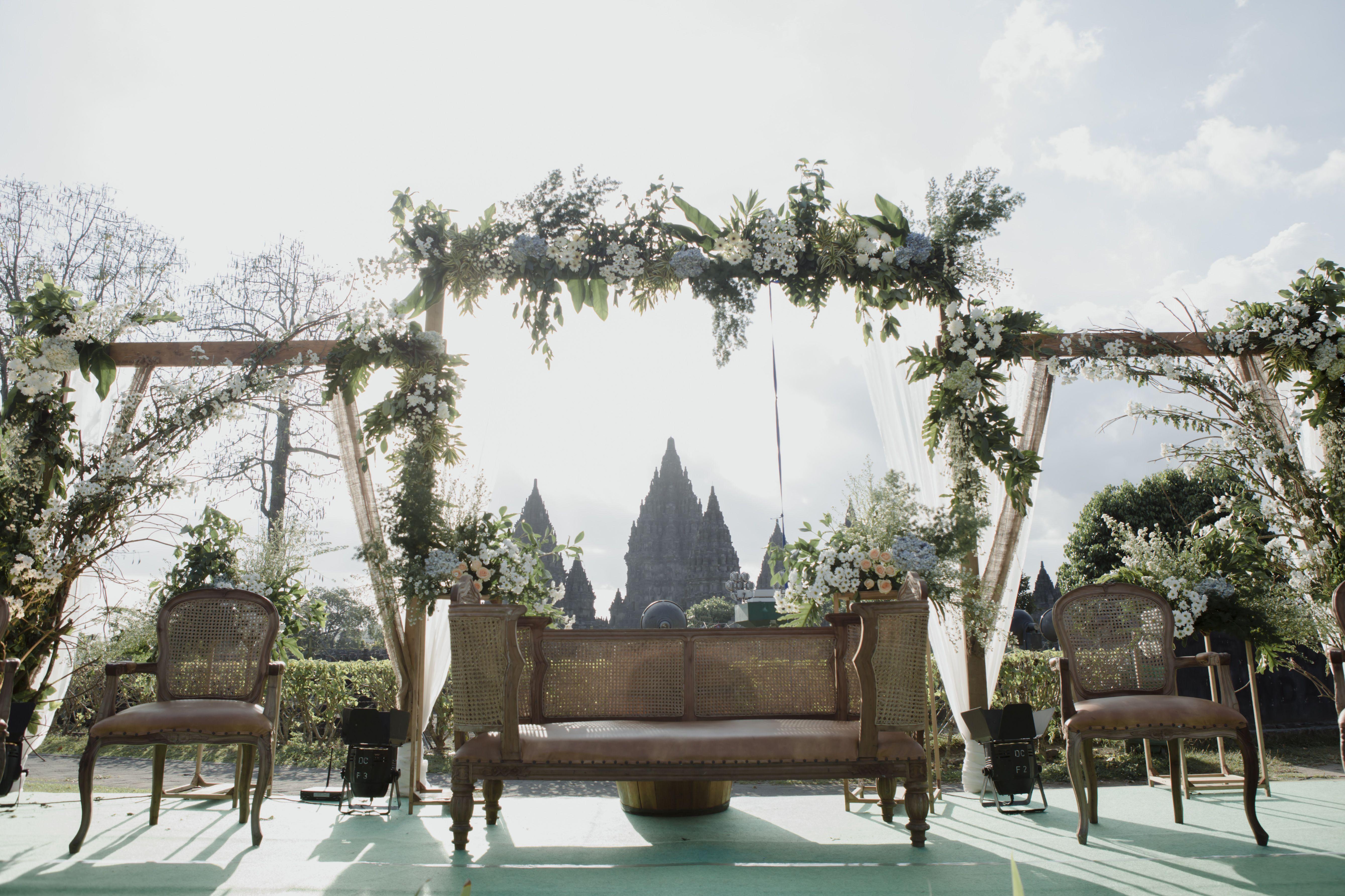 Dekorasi Rustic Outdoor Pernikahan Ide Perkawinan Dekorasi Panggung Pernikahan