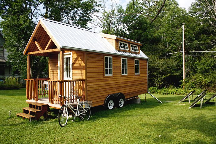 How to build your own Tiny Home on Wheels Home Pinterest