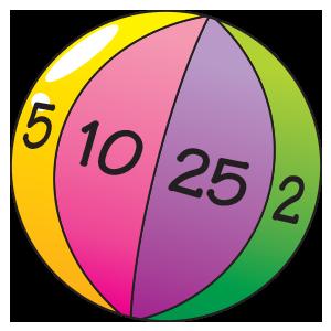 Beach ball multiplication game. TheMailbox.com | Math | Pinterest