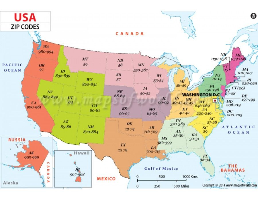 Buy Us Zip Code Map Us Maps Anzeigen