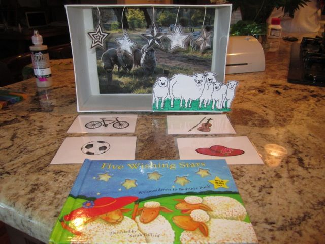 "Preschool Book Box – ""Five Wishing Stars"""
