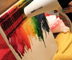 Crazy things to do with crayons...who knew!?