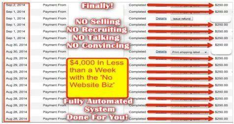 BOOM! $250 JUST ADVERTISING A SECRET WEBSITE ★★ NOT MLM