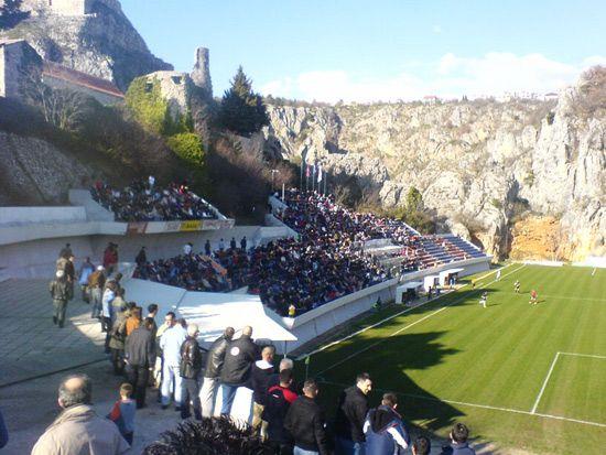 Gospin Dolak Stadion Stadium Football Stadiums Croatia