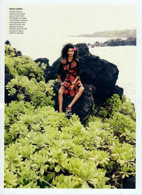 """""""Flower Girls"""" by Mikael Jansson for Vogue January 2014"""