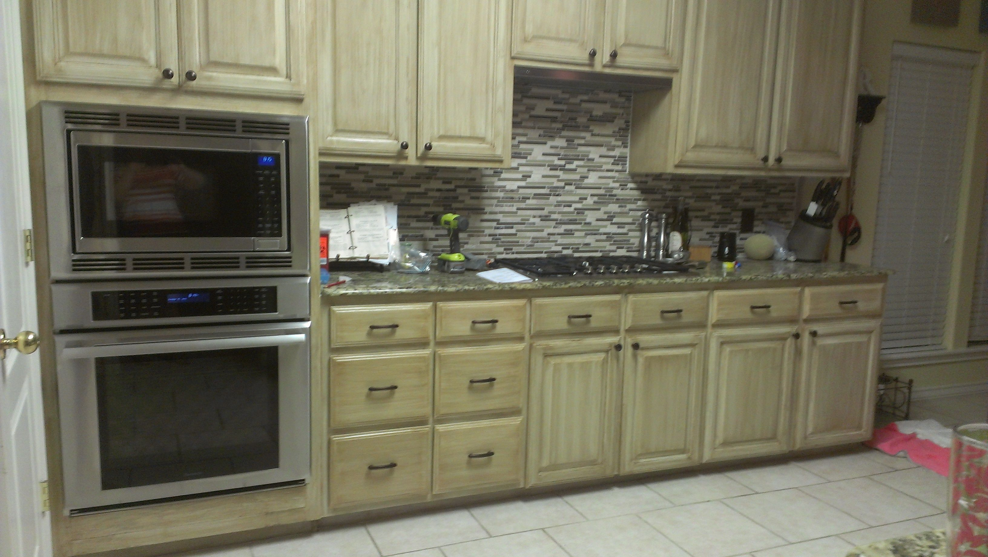 The Kitchen Final We Used Rustoleum Cabinet