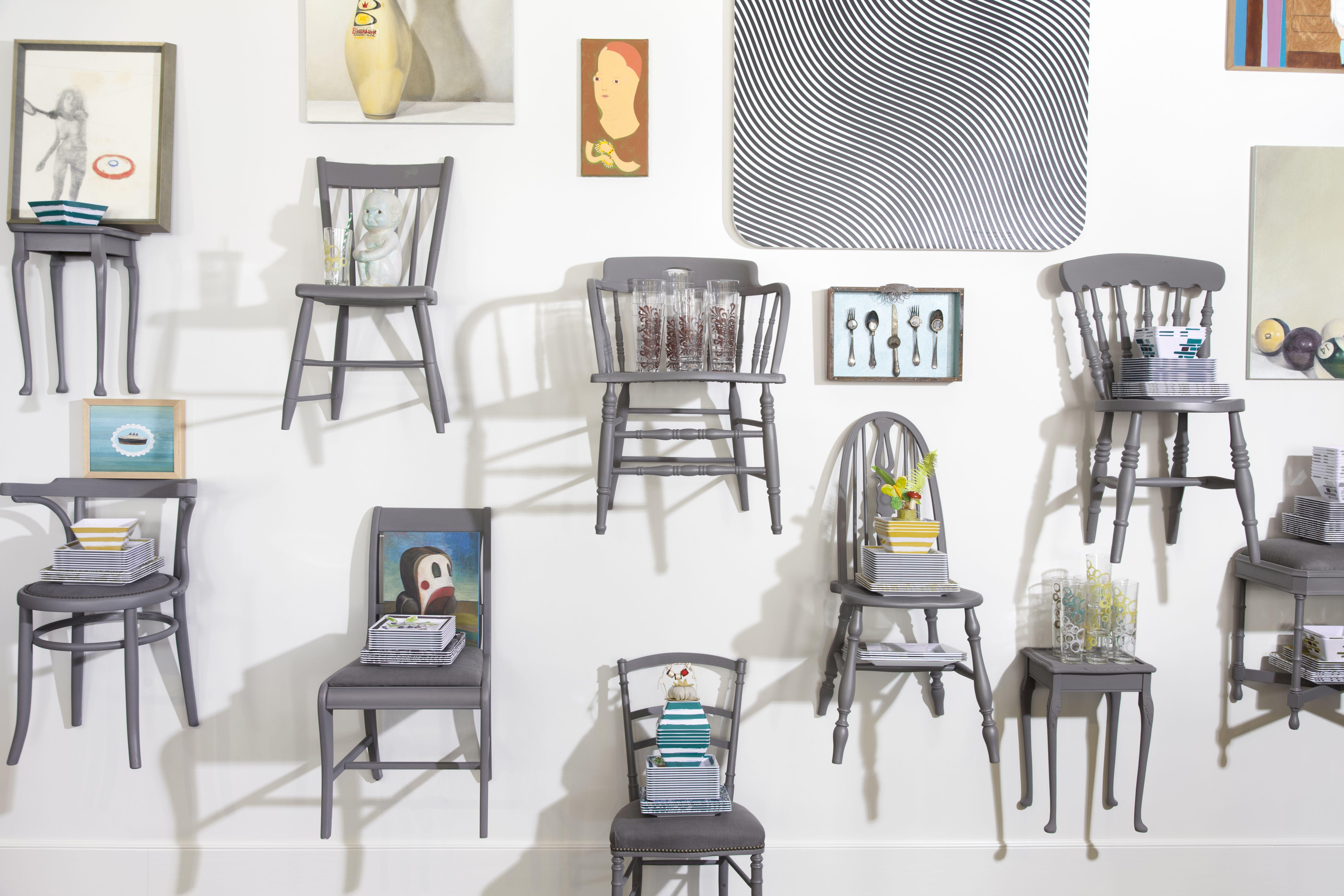 #glennewallace #retail #retaildesign #storedesign #scaddesigngroup chair wall @shopSCAD www.shopscad.com #merchandising #savannahga #chairs