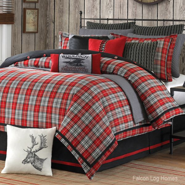 Rustic Masculine Bedroom Ideas: Cabin Bedding And Western Bedding
