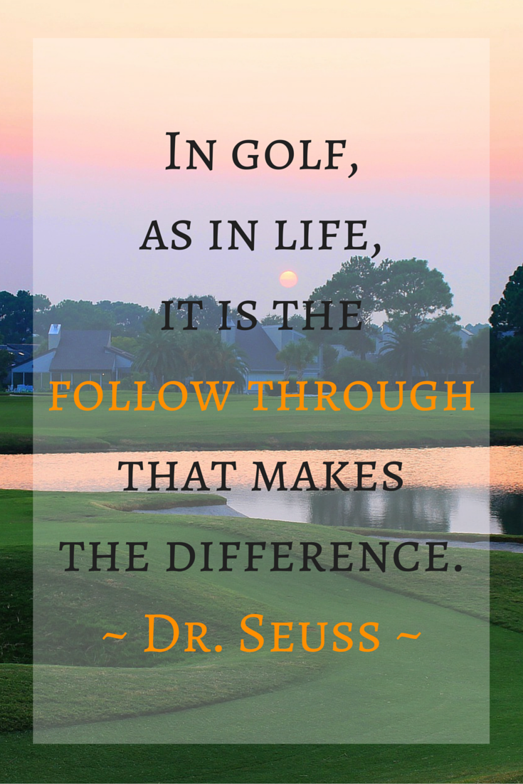 Pin by Just Block it Sports on Golf | Golf quotes, Golf ...