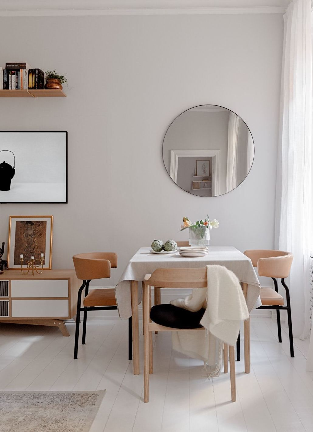 all white home with a warm look  coco lapine design