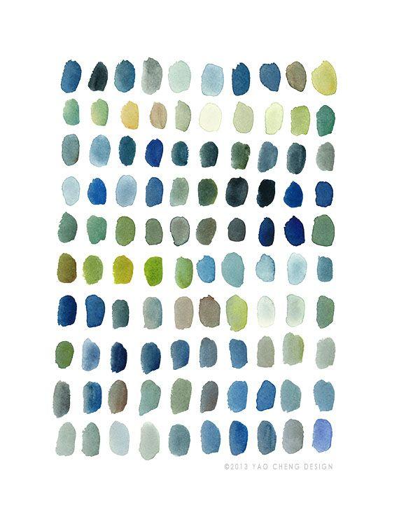 DOTS IN BLUE Yao Cheng Design