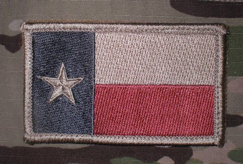 Subdued Texas Flag Patch Tactical Patches Flag Patches Patches