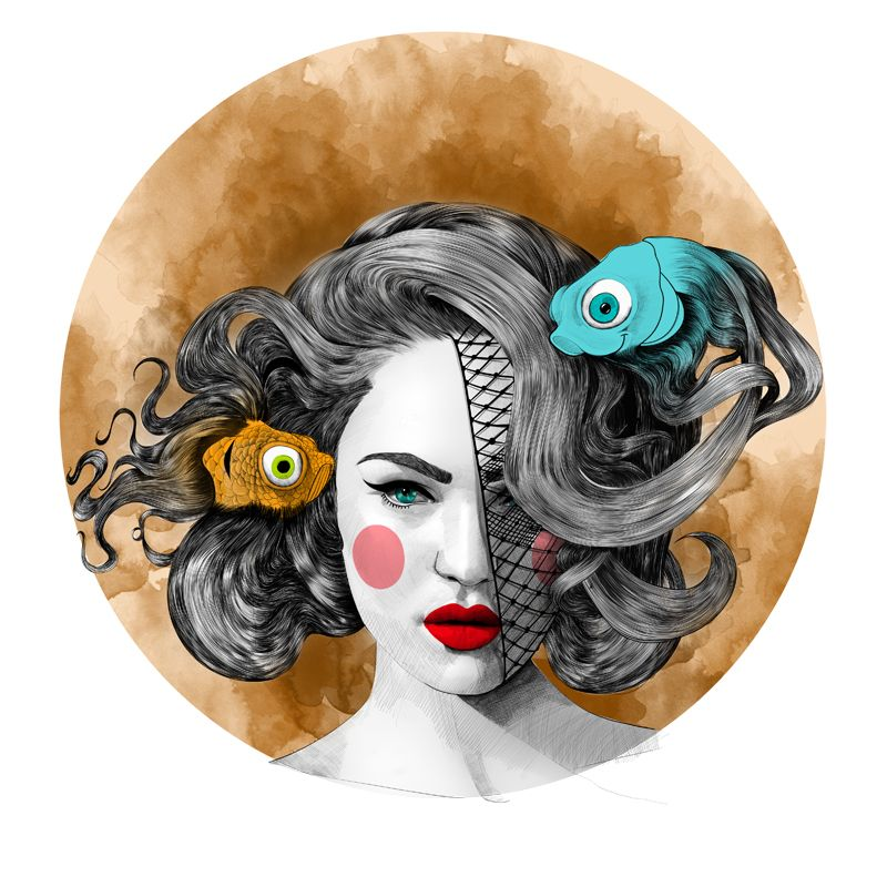 Mustafa Soydan Zodiac Illustrations For Trendland   Trendland: Fashion Blog & Trend Magazine