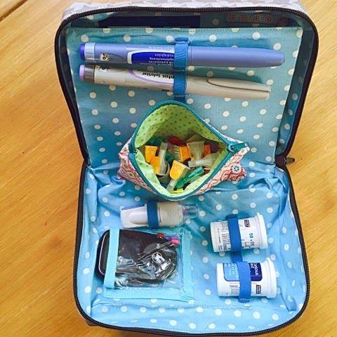 14 Diabetikertasche-Ideen | diabetiker tasche, taschen, taschen nähen