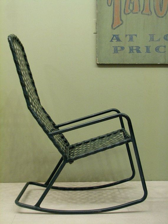 Brown Jordan Patio Furniture   Vintage Rocking Chair