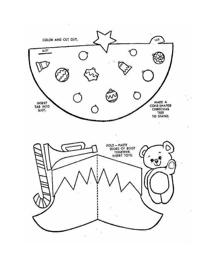 Christmas Ornament Coloring Pages | Christmas Ornament Colouring ...