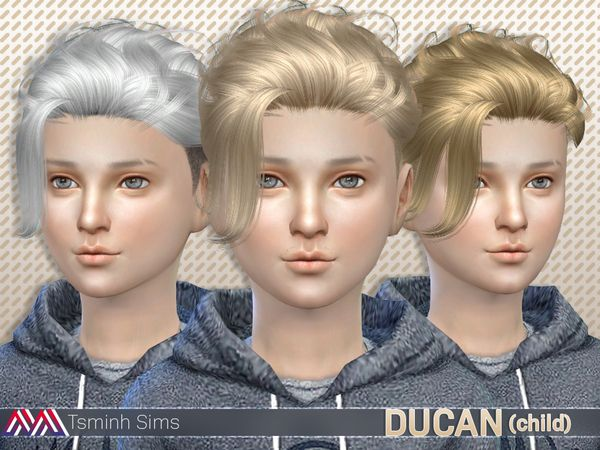 The Sims Resource Ducan Hair 15 Child Sims 4 Downloads Sims 4