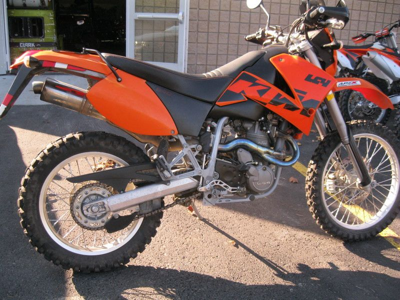 2003 Ktm 640 Lc4 Stock Apex Cycle Ktm Used Motorcycles Cycle