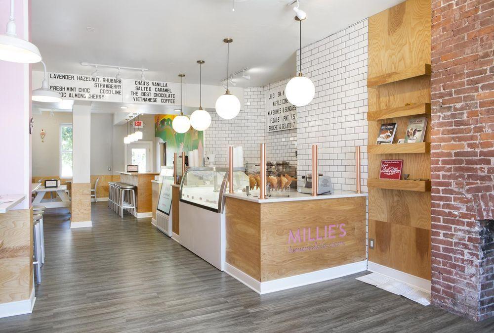 The Best New Ice Cream Shops In The U S Cream Decor Ice Cream