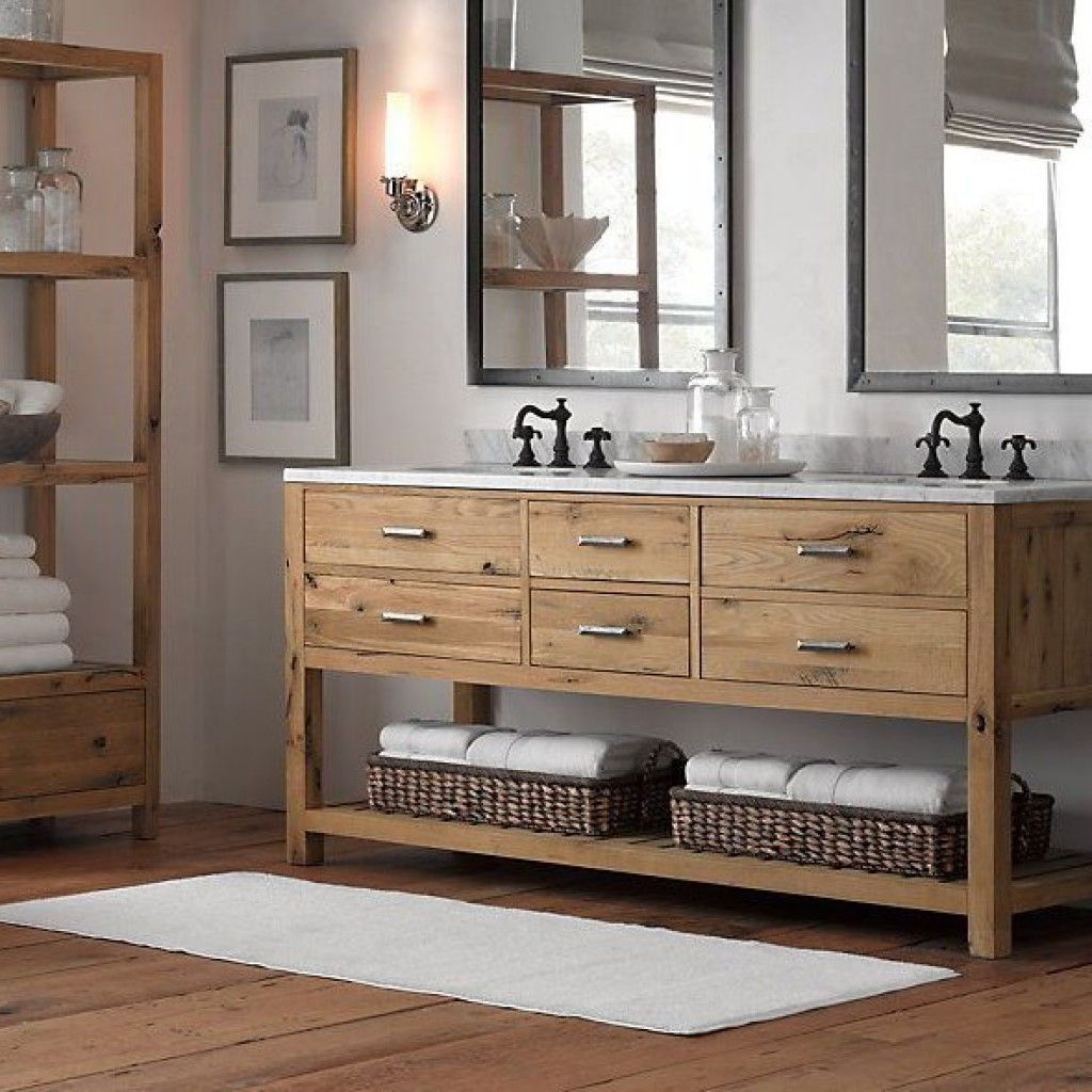 Rustic Modern Bathroom Vanities