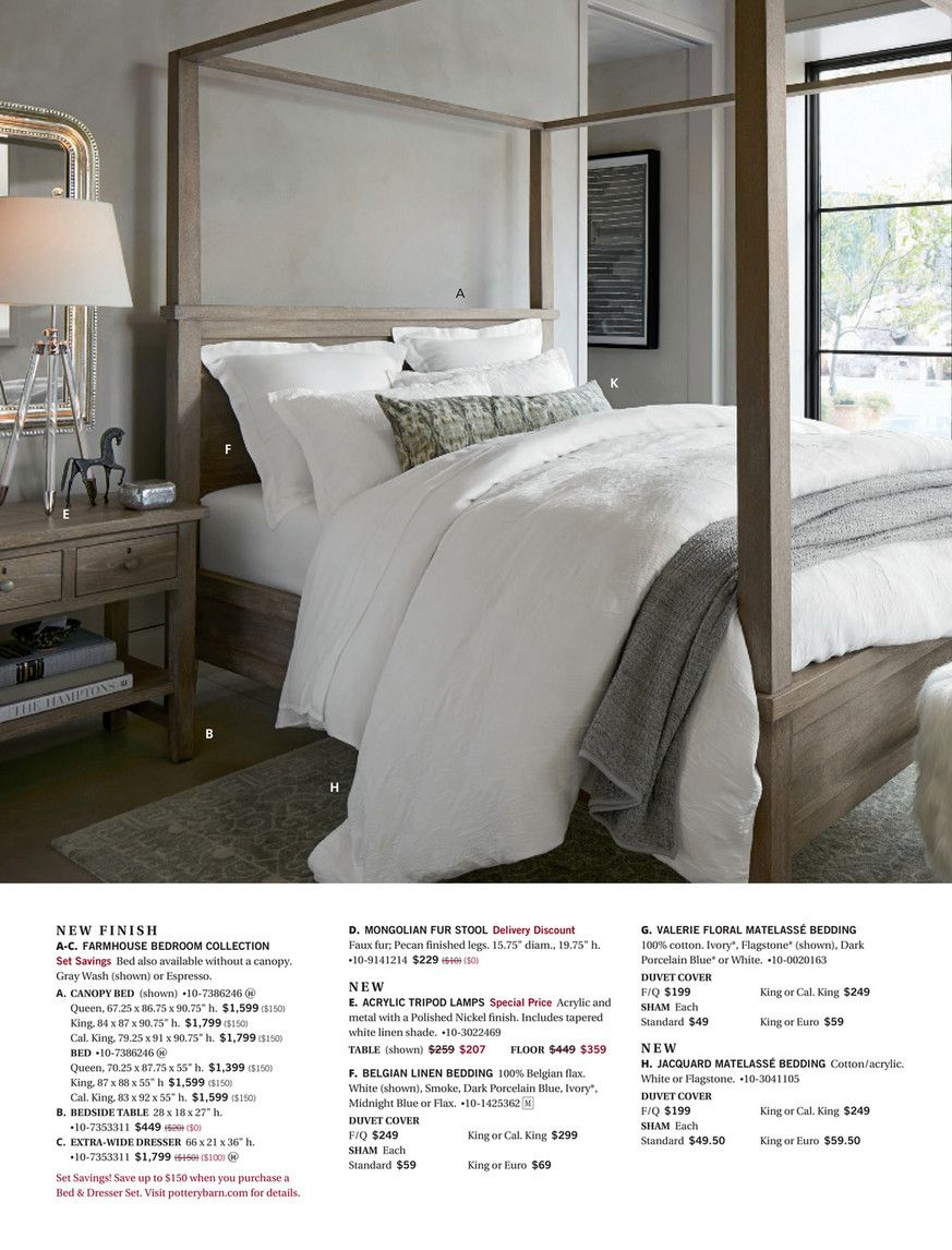 Pottery barn fall d page master bedroom in