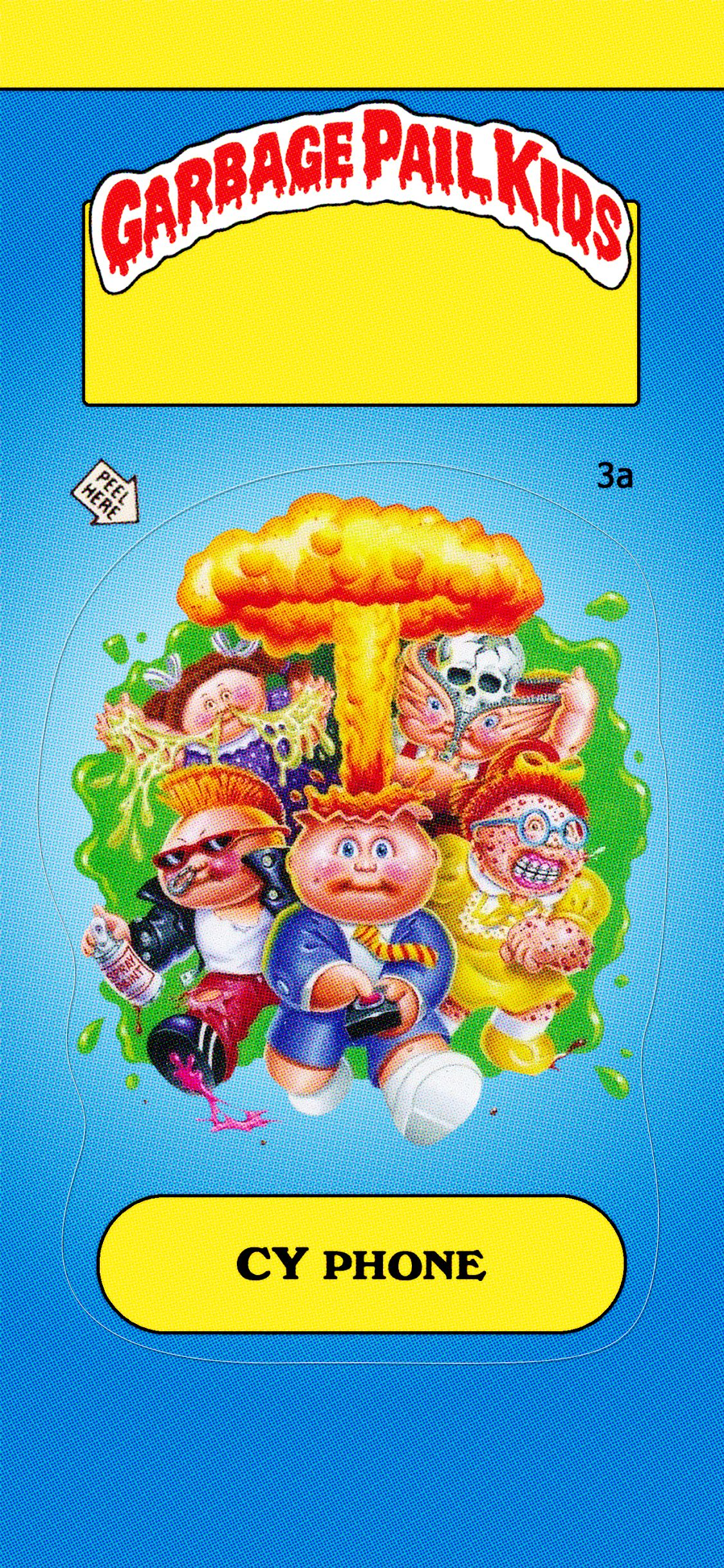 Garbage Pail Kids Iphone Wallpaper Lock Screen Iphone Wallpaper