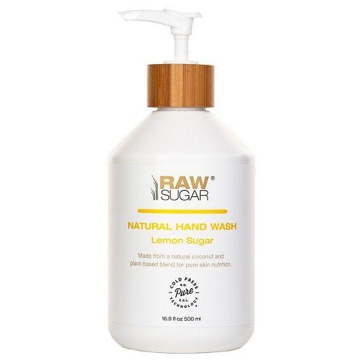 Raw Sugar Simply Hand Wash Lemon Sugar 16 9 Fl Oz Raw Sugar